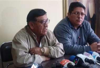 Los representantes en conferencia de prensa I Foto: Jorge Rocha.