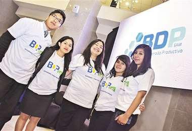 Jóvenes van a contar con asesoría para ejecutar sus iniciativas. Foto: APG NOTICIAS