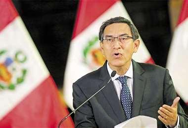 Martín Vizcarra alertó que su Gobierno será implacable con los corruptos