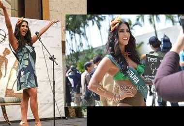 Fernanda Castedo Miss Tierra 2019