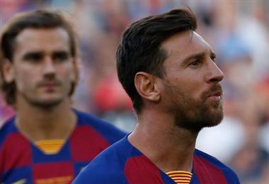 Lionel Messi niega problemas con Griezmann