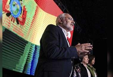 Carlos Mesa hizo pública la posición de Comunidad Ciudadana (Foto: CC)