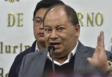 La autoridad reprochó los hechos de violencia en el país I Foto: APG Noticias.