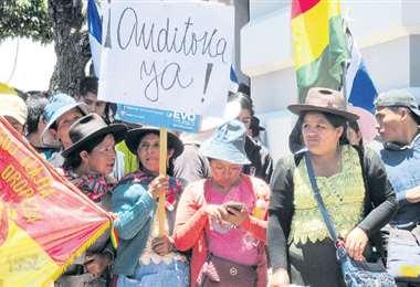 El Gobierno insiste en que la OEA aplique una auditoría, no habla de anular las elecciones generales
