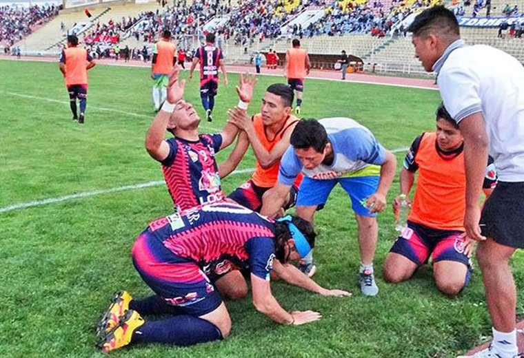 Jugadores del Stormer's San Lorenzo de Potosí. Foto: Correo del Sur