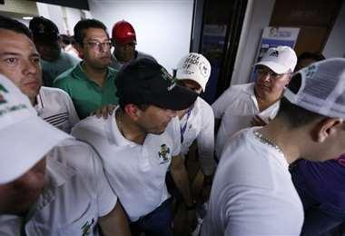 Luis Fernando Camacho respondió a lo dicho por el presidente Morales.