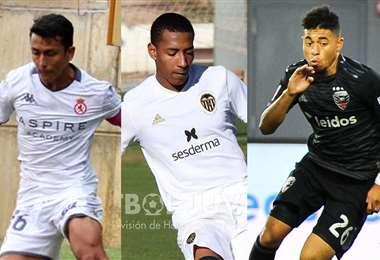 Fernández, Quinteros y Bustamante fueron llamados a la sub 23. Foto. Internet
