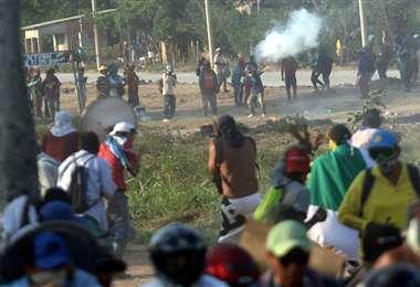 Los enfrentamientos en Montero dejaron dos personas fallecidas