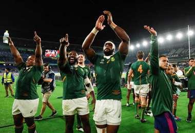 Springboks fueron campeones en 1995 y 2007.