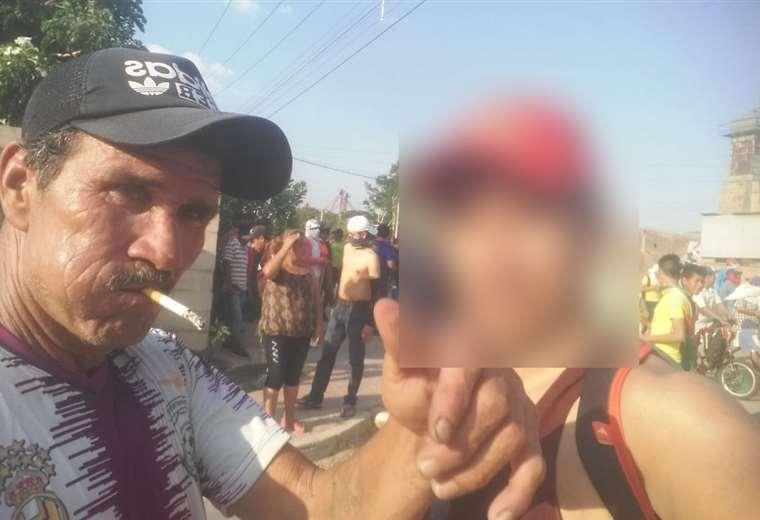 Mario Salvatierra (izq.), mayor de 60 años falleció en la clínica Cardio Salud con dos disparos de arma de fuego