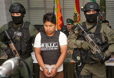 El hombre, esposo de la tía de la adolescente, deberá pasar los siguientes 30 años en la cárcel. Foto: ROLANDO VILLEGAS