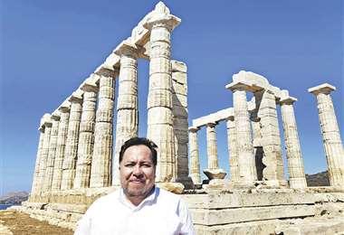 Chávez valora la oportunidad de tener una experiencia directa de la cultura griega, que tanto ha influido en la cultura occidental