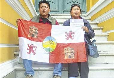 Los huelguistas ayunan en la Casa Social del Maestro de La Paz. Hoy cumplen el quinto día. Foto: APG NOTICIAS