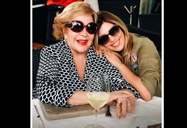 Silvia Pinal y Michelle Salas