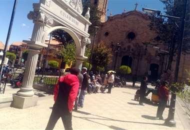 La Villa Imperial vive un día normal este martes, cuando se cumple el segundo día del paro cívico. Foto: Iván Paredes