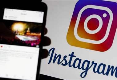 Imagen referencial de la red social Instagram
