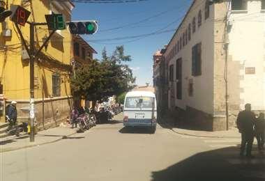 Potosí acata este martes el segundo día de un paro indefinido. Foto Iván Paredes