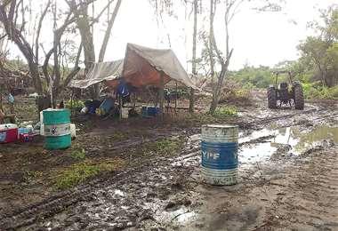 En mayo se denunció la ocupación ilegal en el área ecológica Laguna Concepción