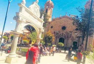 La ciudad de Potosí vivió ayer una jornada tranquila en el segundo día de paro convocado por Comcipo. Foto: IVAN PAREDES