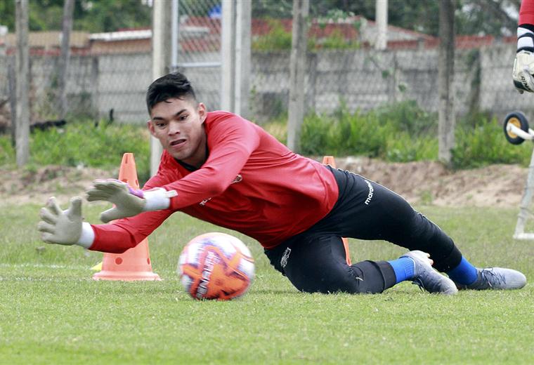 Rubén Cordano trabaja con la selección sub-23. Foto: APG