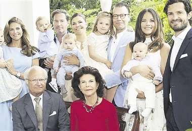 La familia del rey. Los hijos y nietos de Carlos Gustavo y Silvia de Suecia