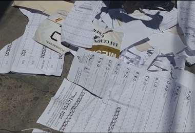 El material fue encontrado por vecinos del sector I Foto: AMN.