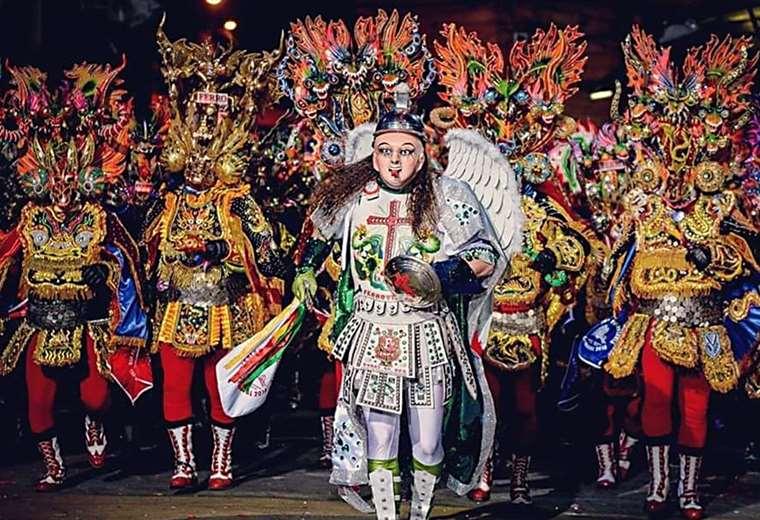 Oruro suspende su primera actividad de Carnaval (Foto: Emilio Huascar)