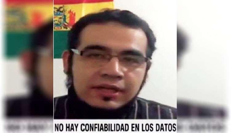 Villegas ofreció entrevistas a TVU y a la cadena internacional CNN. Foto: TOMADA DE LA TV