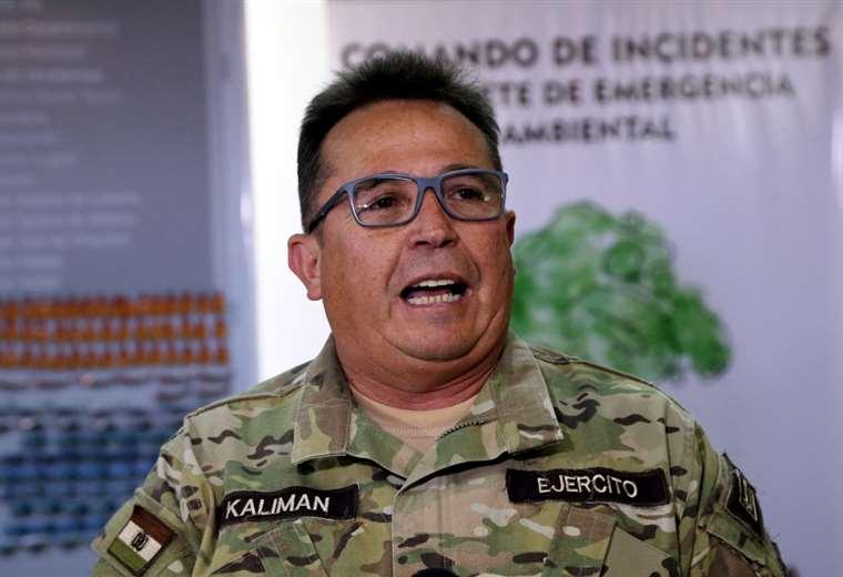 El comandante de las FFAA