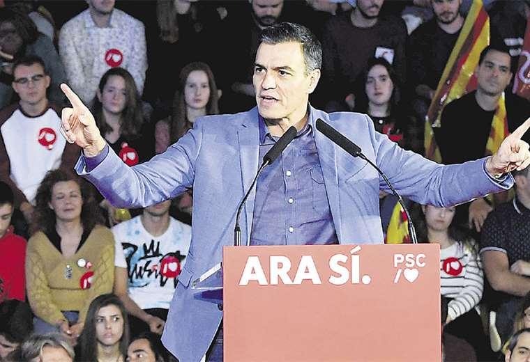 Pedro Sánchez llamó a los españoles a participar masivamente