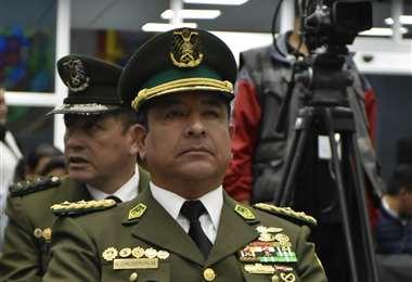 El comandante Calderón dio un paso al costado este lunes