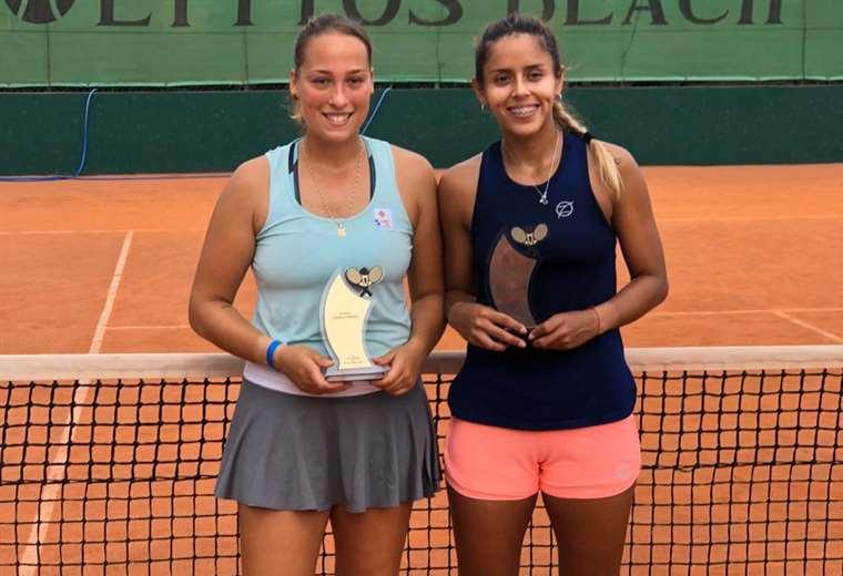 Noelia Bouzo y Noelia Zeballos, campeones en Grecia.