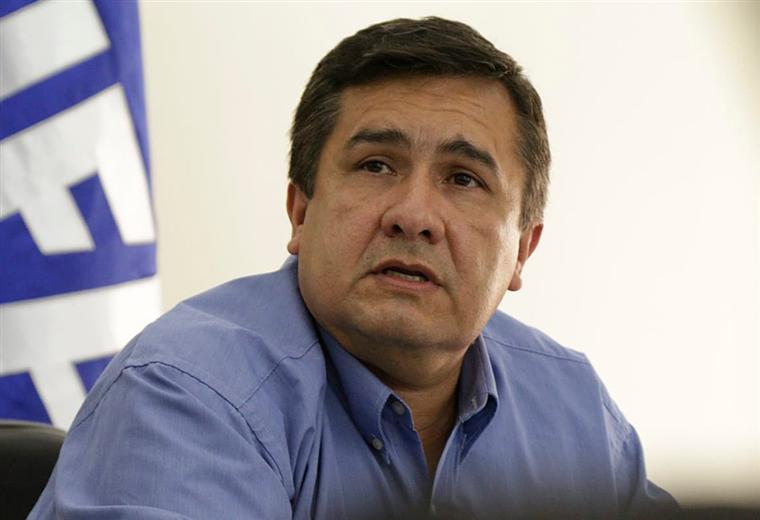 Robert Blanco, vicepresidente de la FBF. Foto: AFP