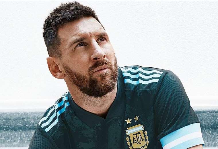Lionel Messi jugará los amistosos con la albiceleste. Foto: Twitter