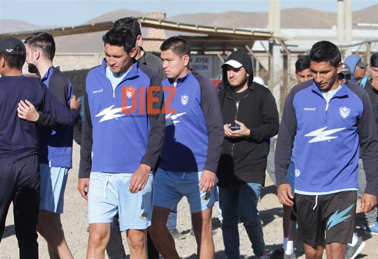 Jugadores de San José. Foto: Etzhel A. Llanque