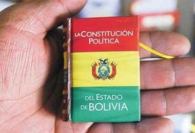 Añez asumió la Presidencia amparándose en el artículo 169 de la nueva Constitución Política del Estado.