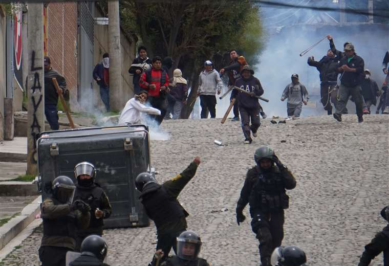 Crisis en La Paz