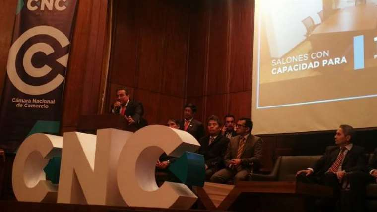 Foto referencial. La CNC manifestó que trabaja por el desarrollo del país.