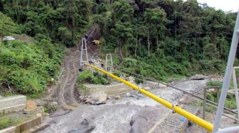 El gasoducto Carrasco-Cochabamba provee el energético a los mercados de Cochabamba, Oruro y La Paz