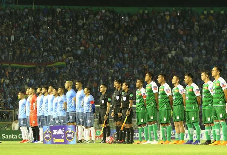 Blooming y Oriente deben jugar por la fecha 18 del Clausura. Foto: Jorge Ibáñez