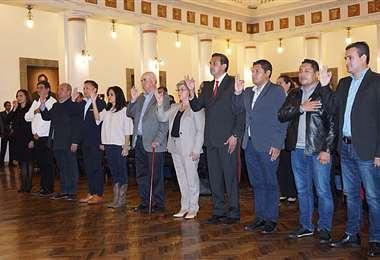 El gabinete que acompañará a Añez en su corto mandato (APG)