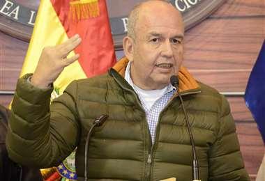 Murillo es parte del nuevo gabinete de ministros (Foto: ABI)