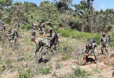 Efectivos de la FTC están amenazados en Chimoré