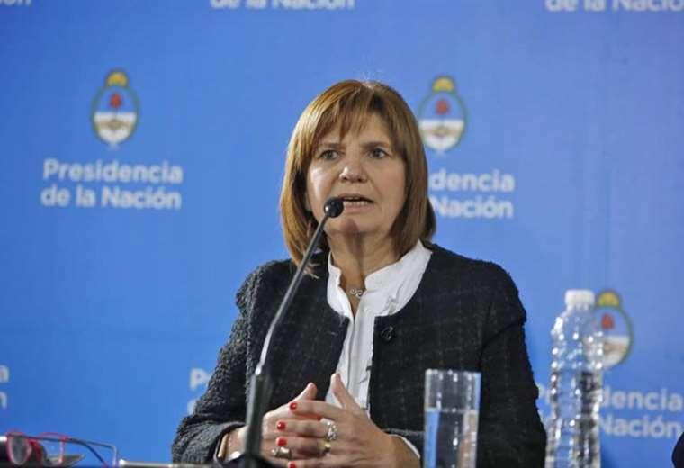 La ministra de Seguridad, Patricia Bullrich | Foto: Archivo