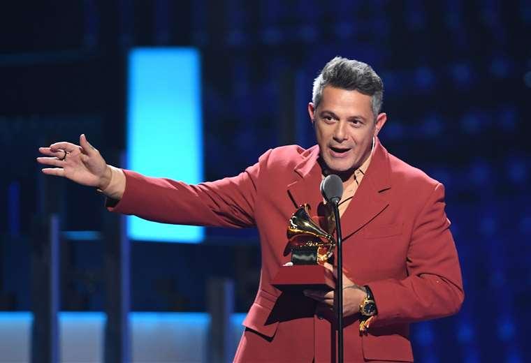Alejandro Sanz recibió un total de ocho nominaciones   AFP