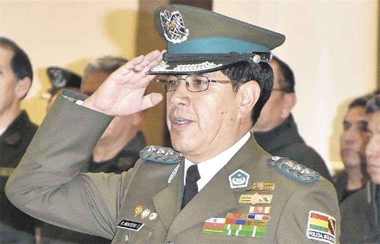 Coronel Montero es el nuevo jefe