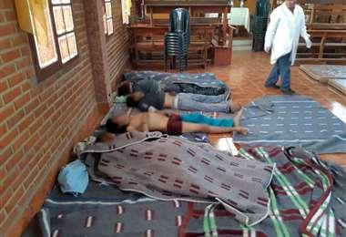 Fallecidos en refriega con la Policía | Foto: APG