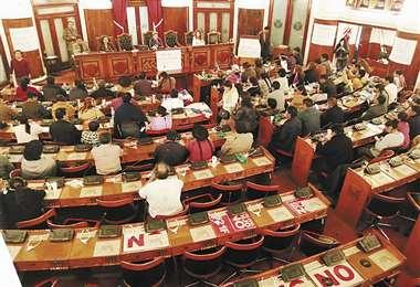 Los diputados del MAS sesionaron el miércoles y conformaron una directiva. Se creó una mesa de diálogo con el apoyo de la Iglesia católica