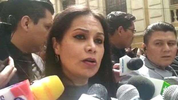 Roxana Lizárraga, ministra de Comunicación