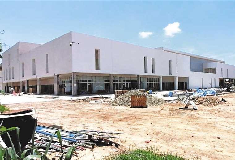 El hospital ha sido construido con recursos del Tesoro General del Estado (Fotos: Gobernación)